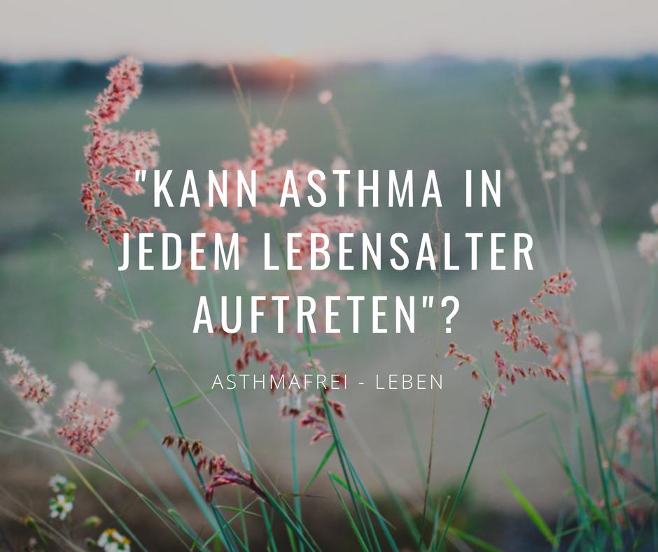 Ist ein Asthmafreies Leben überhaupt möglich?